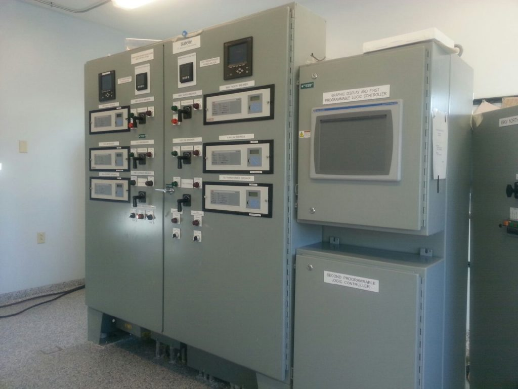 DUAL 69 KV FEED SUBSTATTION CONTROL