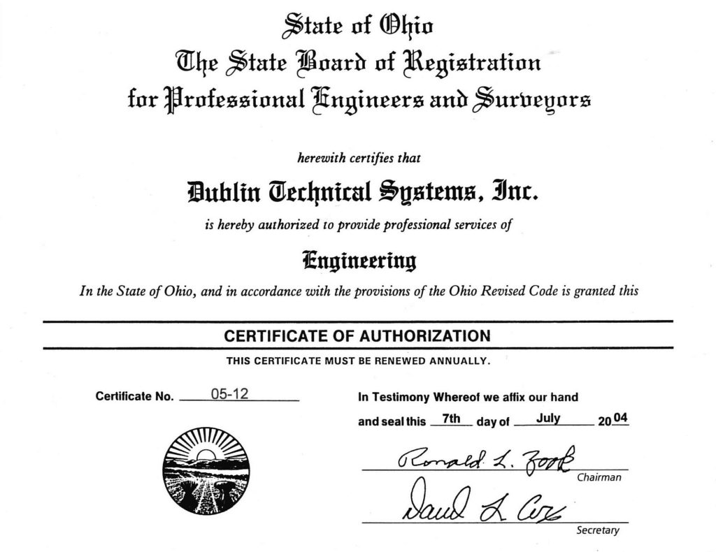 engineering-certificate